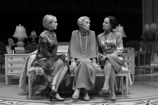 Newly minted Tony nominees Glenda Jackson (center) and Laurie Metcalf (right) with their Three Tall Women costar, Alison Pill.