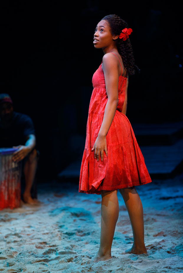 Hailey Kilgore has received a Tony nomination for Best Performance by an Actress in a Leading Role in a Musical for her work in Once on This Island.