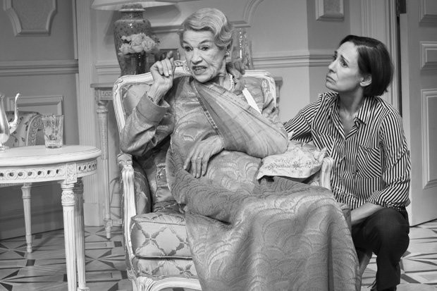 Glenda Jackson and Laurie Metcalf are nominated for Tony and Drama Desk Awards for their performances in the Broadway revival of Edward Albee's Three Tall Women.