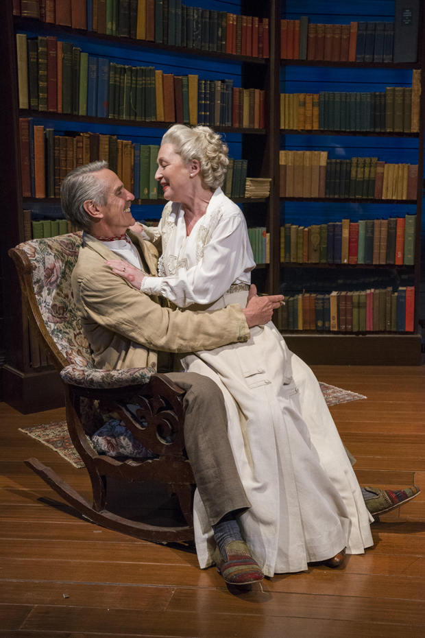 Jeremy Irons and Lesley Manville star in Long Day's Journey Into Night.