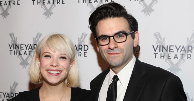 Lauren Marcus and Joe Iconis collaborate on Be More Chill.