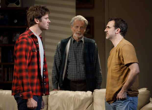 Catch Anna D. Shapiro's production of Straight White Men at the Hayes Theater.