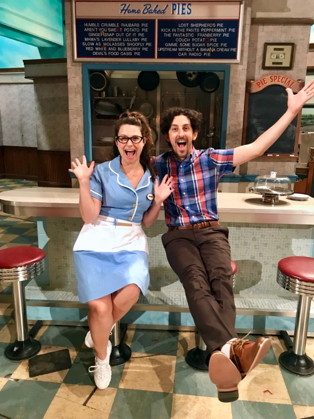 Lowes and Shapiro began their Broadway run on July 17,
