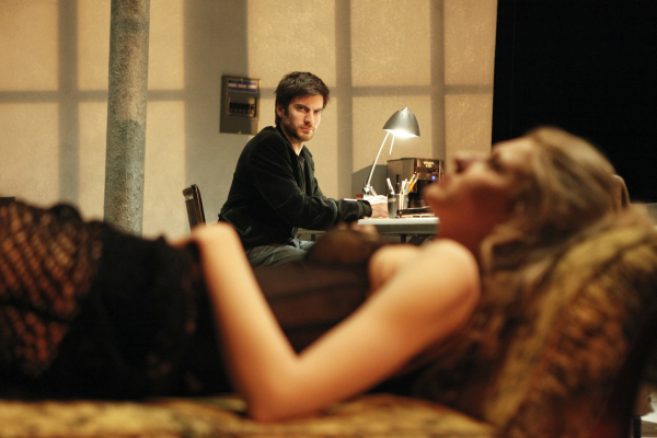 Wes Bentley and Nina Arianda in Venus in Fur