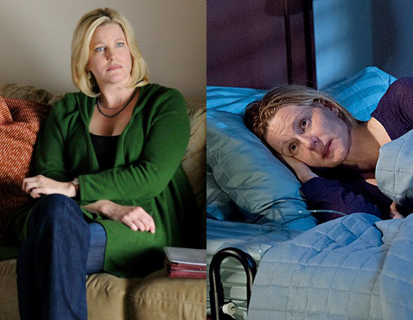 Anna Gunn in Breaking Bad and Larua Linney in The Big C: Hereafter.