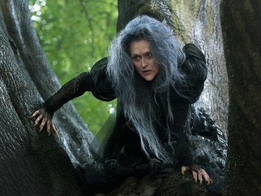 Meryl Streep plays The Witch in Disney's film adaptation of Stephen Sondheim's <i>Into the Woods</i>.