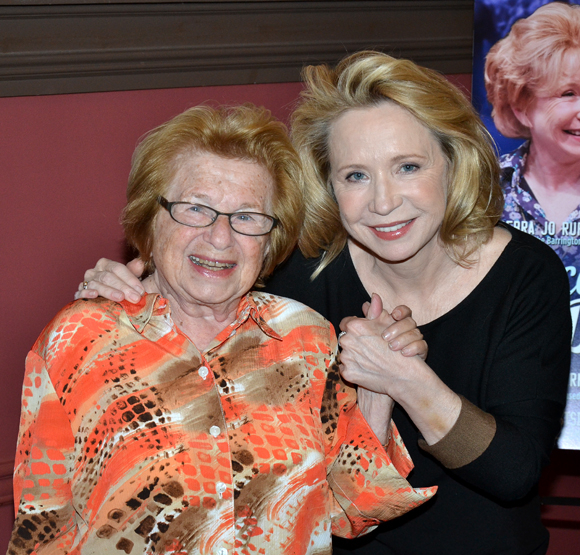 Dr. Ruth K. Westheimer and Debra Jo Rupp