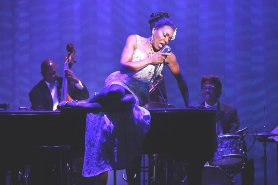 Dee Dee Bridgewater in Lady Day.
