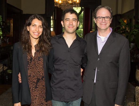 Artistic Directors Sarah Stern and Douglas Aibel present their new playwright-in-residence. Christopher Chen.