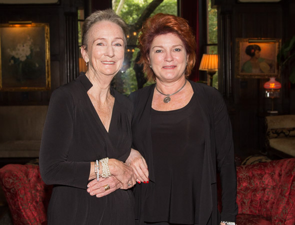 Kathleen Chalfant and Kate Mulgrew were co-hosts of the luncheon.