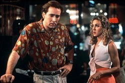 Nicolas Cage and Sarah Jessica Parker in the film Honeymoon in Vegas.
