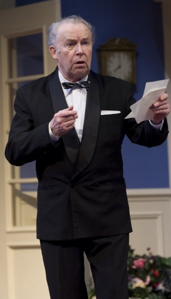Dale Benson in a production of Leading Ladies at Theatre at the Center