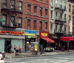 9th Avenue is the United Nations of food.