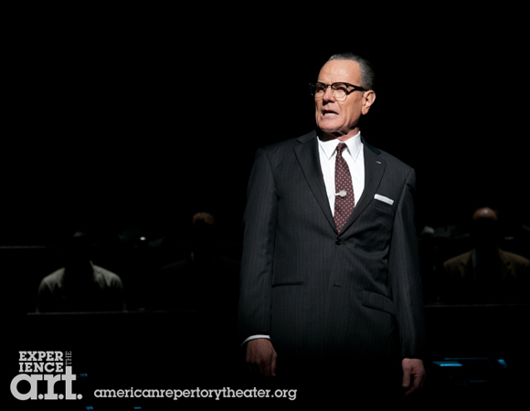 Bryan Cranston as President Lyndon B. Johnson.