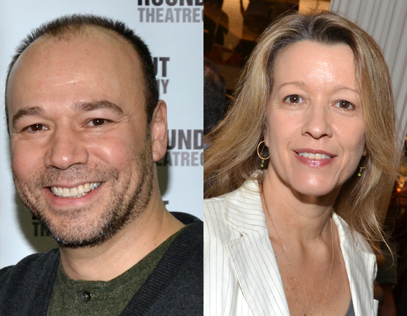 Danny Burstein and Linda Emond