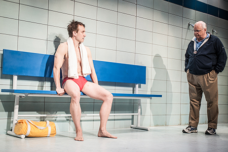 Frank Boyd and Harry A. Winter in Red Speedo at Studio Theatre