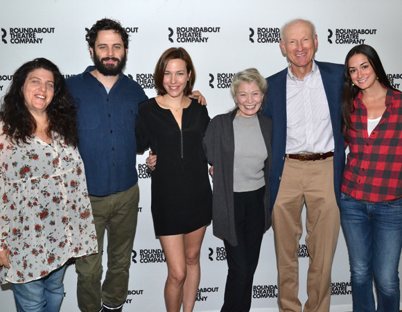 Sheryl Kaller, Luke Kirby, Rebecca Henderson, Phyllis Somerville, James Rebhorn, and Meghan Kennedy.