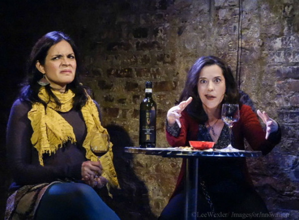 Veronica Cruz and Karla Hendrick in The Norwegians