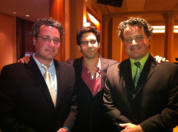 Composers Robert Morris, Joe Shane, and Steven Morris