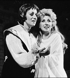 Tatiana Troyanos as Romeo and Sills as Juliet in Sarah Caldwell's 1975 production of Bellini's I Capuleti e i Montecchi