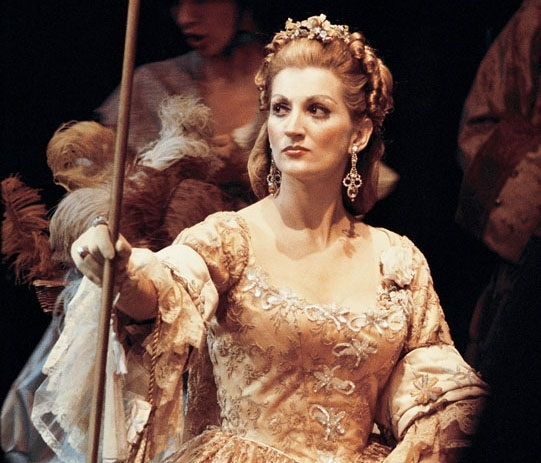 Patricia Brooks as Massenet's Manon, in Tito Capobianco's New York City Opera production, 1969.