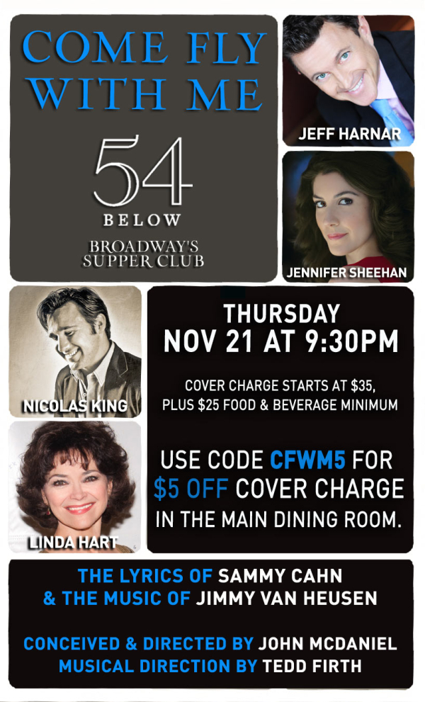 (Promotional poster, courtesy of 54 Below)