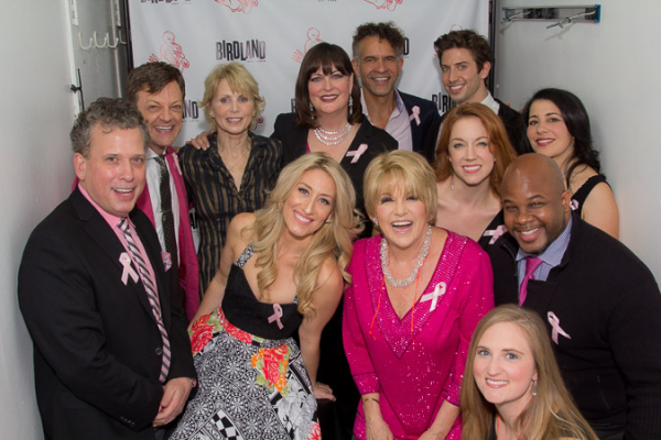 Lorna Luft with her amazing cast.