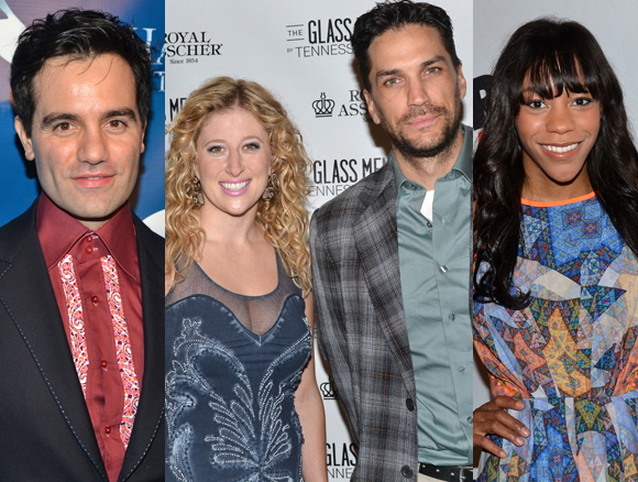Ramin Karimloo, Caissie Levy, Will Swenson, and Nikki M. James
