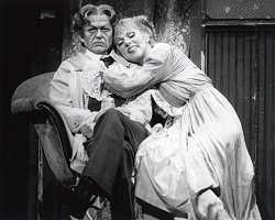 Timothy Nolan and Joyce Castle in the New York City Opera production of Sweeney Todd.