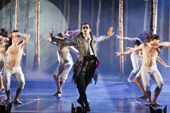 Christopher Marney in Matthew Bourne's Sleeping Beauty.