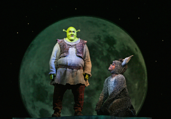 Brian d'Arcy James as Shrek.