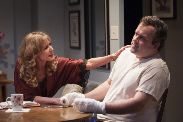 Christine Lahti and Christopher McFarland in Pride in the Falls of Autrey Mill.