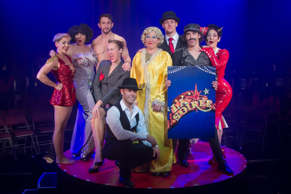 The incredible Cast of La Soiree.