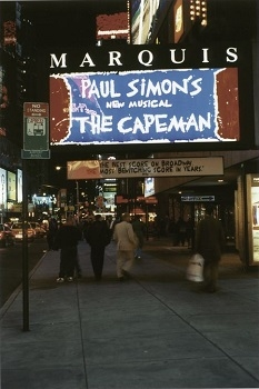 The Capeman at Broadway's Marquis Theatre, 1998.