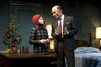Juliet Brett and Ed Harris in Beth Henley's The Jacksonian.