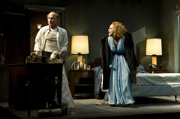 Ed Harris and Amy Madigan in Beth Henley's The Jacksonian
