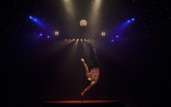 English Gent Hamish McCann in La Soirée.