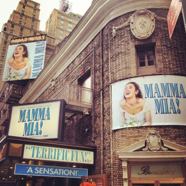 Mamma Mia! at the Broadhurst Theatre