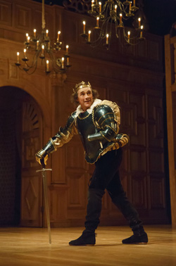 Mark Rylance in Richard III.