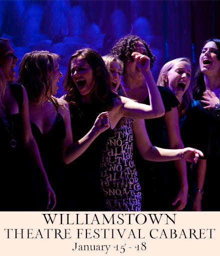 Artwork for the Williamstown Theatre Festival Cabaretb