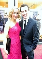 Rob McClure with his wife, Maggie.