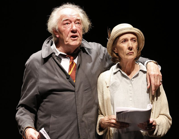 Michael Gambon and Eileen Atkins in All That Fall