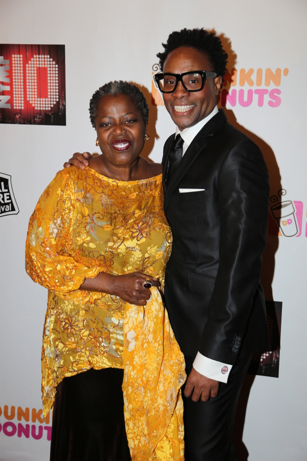 Lillias White and honoree Billy Porter.