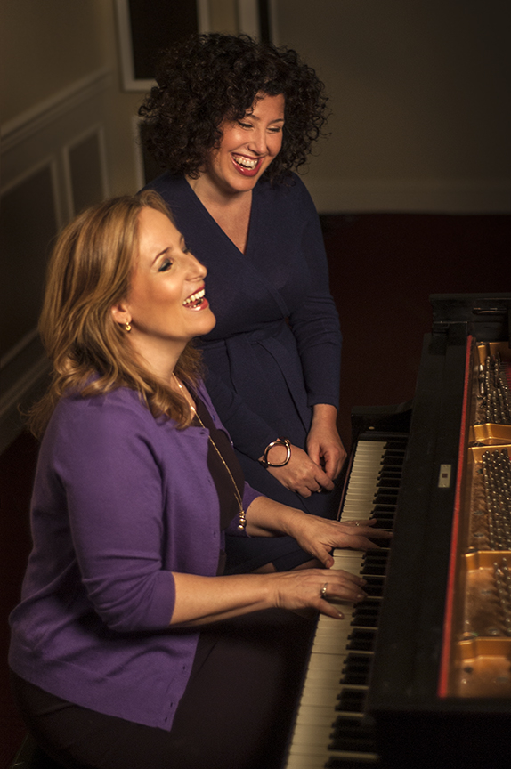 Songwriting team Zina Goldrich and Marcy Heisler.
