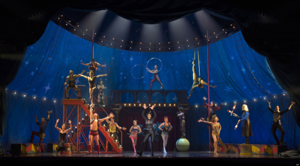 The cast of Pippin.