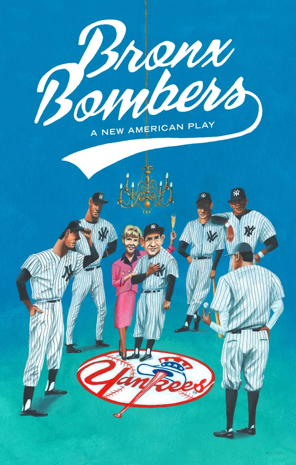 Artwork for the upcoming Broadway production of Eric Simonson's Bronx Bombers