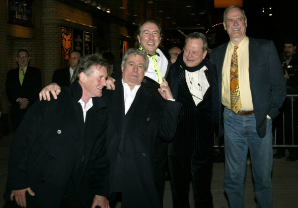 Terry Jones, Michael Palin, Eric Idle, Terry Gilliam, and John Cleese