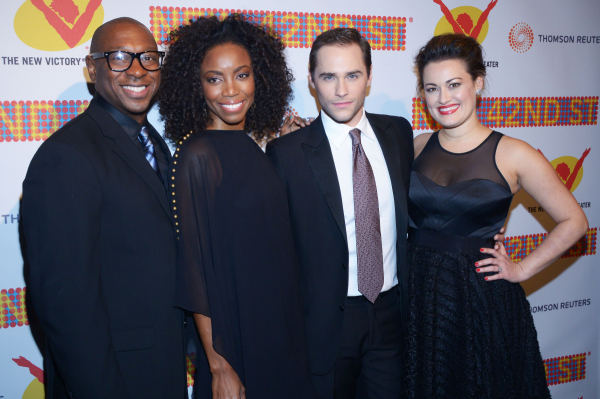 Disney on Broadway alums Alton Fitzgerald White, Heather Headley, Josh Strickland, and Ashley Brown.