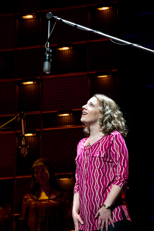 Jessie Mueller as legendary singer-songwriter Carole King.