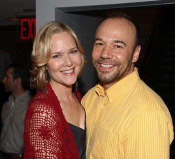 Broadway sweethearts Rebecca Luker and Danny Burstein.